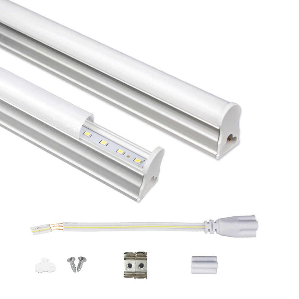LED Tube T5 Light 29CM 57CM 220V~240V LED Fluorescent Tube LED T5 Led Lamp 6W 10W Cold White Light Lampara Ampoule PVC Plastic