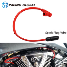 ALCON-Racing NGK Spark Plug Iridium Power Cable Wires Cap Cover Ignition Cable For Off-road Motocross Dirt Bike Motor