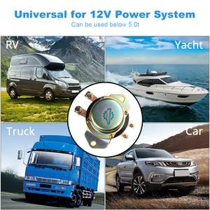 Image 5 - Auto Batterie Isolator Schalter Auto Fahrzeug Elektromagnetische Rast Relais 100A 12v Fernbedienung Batterie Trennen Cut Off 10 15v