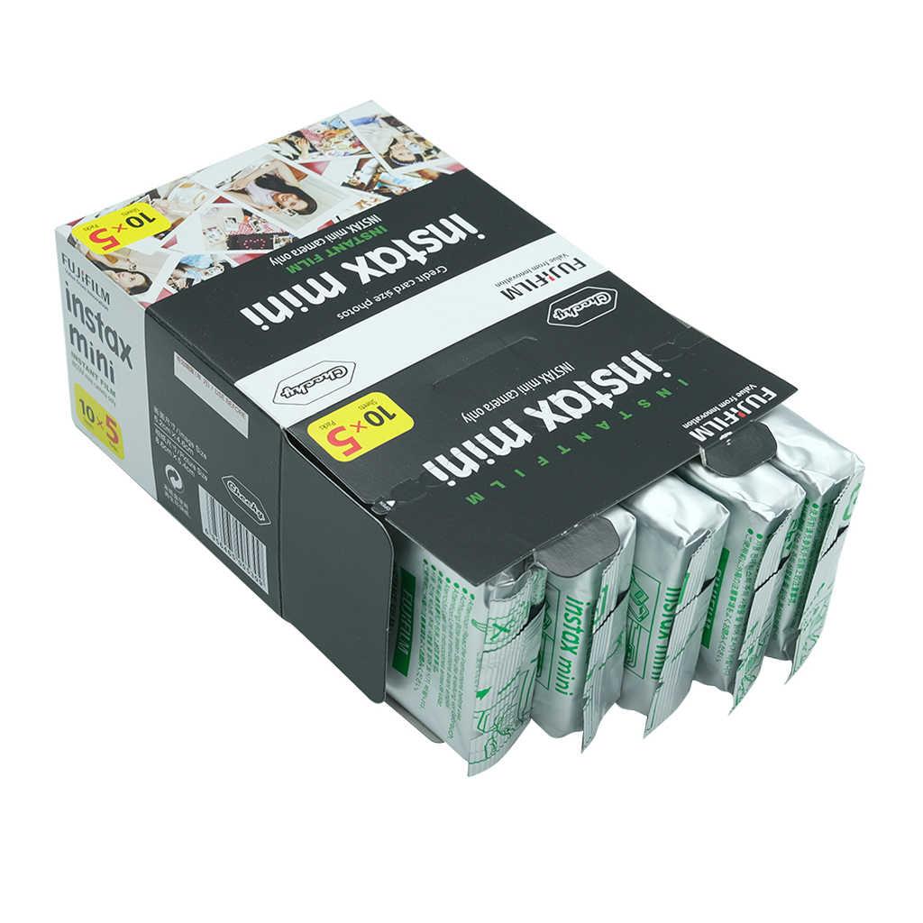 Fujifilm fuji Instax Mini7C Film natychmiastowy aparat fotograficzny + 20 50 arkusze Fujifilm Instax Mini 8/9/7C aparatu fotograficznego Fujifilm Instax