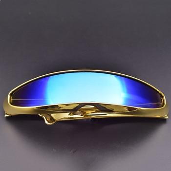 2021 Retro Futuristic glasses Luxury Men Sunglasses Women Eyewear Novelty Vintage Fashion Sun Glasses gafas de sol hombre/mujer