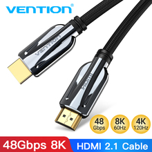Vention HDMI 2.1 Cable 4K 120Hz 3D High Speed 48Gbps HDMI Cable for PS