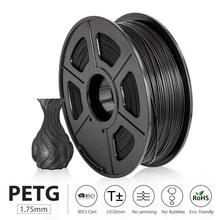PETG Filament 1kg 1 75mm Tolerance 0 02mm 320m Roll Translucent Good Toughness Non toxic Printing