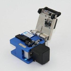 Image 4 - Hoge Precisie FC 6S Optical Fiber Cleaver Met Fiber Schroot Collector Ftth Fiber Snijden Cleaver Gratis Verzending