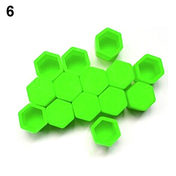 20pcs/bag 17mm wheel nut covers 19mm 21mm  Car Bolt Caps Wheel Nuts Silicone Covers Practical Hub Screw Cap Protector 9