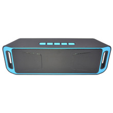 цена на Portable Bluetooth Speaker Bluetooth 5.0 Wireless Deep Bass and Stereo Audio USB/FM Radio/TF Card/AUX Built-in Mic for Leisure