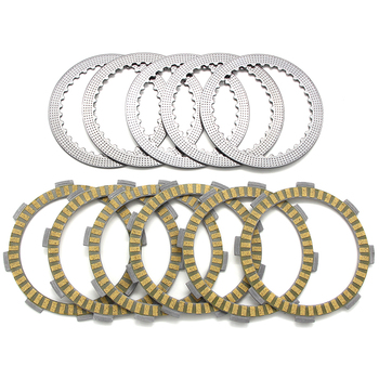 Motorcycle Friction Clutch Plates For Honda CRF150 CRF150R CRF150RB 2007 2008 2009 2010 2011-2017 22321-KSE-670 22201-GBF-B40 image