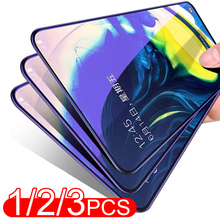 1/2/3PCS Full Cover Tempered Glass For Samsung Galaxy A71 A51 A41 A31 A21 A11 Screen