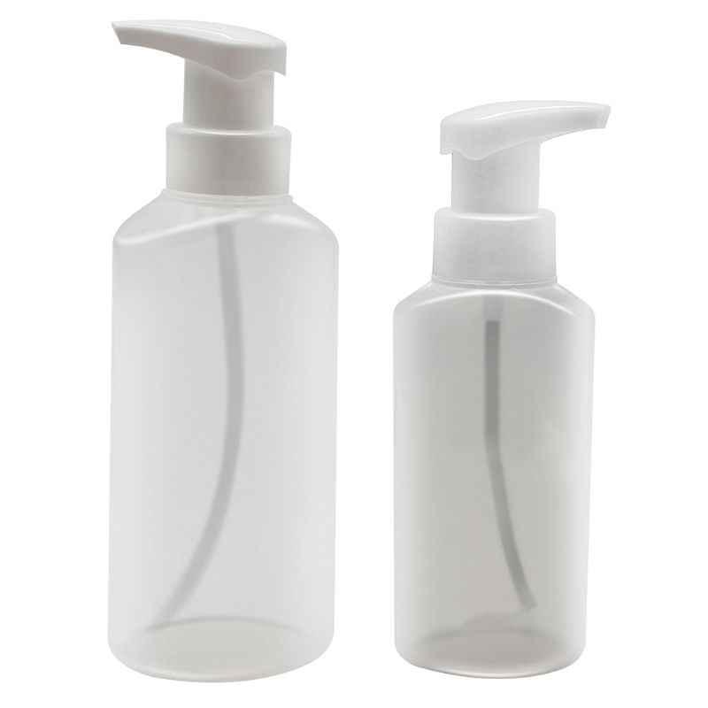 Tempat Sabun Dispenser Ditekan Busa Botol Pendingin Salon Kecil Perm Bantuan Artefak
