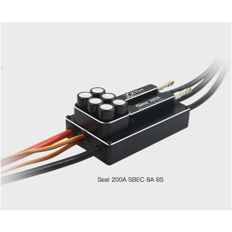 ZTW SEAL 200A SBEC 8A 8S Brushless ESC Great Performance For RC Boat