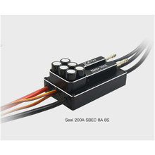 ZTW SEAL 200A SBEC 8A 8S Borstelloze ESC Geweldige Prestaties Voor RC Boot(China)