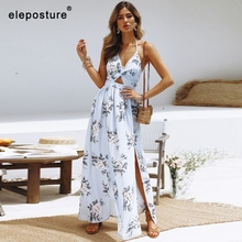 2020 Sexy Chiffon Beach Dress Long Tunics Bikini Swimwear Women Cover Up Print Beach Cover Up Bathing Suits Cover Ups Beachwear