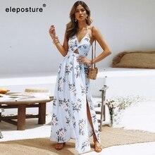 Robe de plage longue en mousseline de soie, Sexy, Cover Up, vêtements pour la plage, modèle 2020