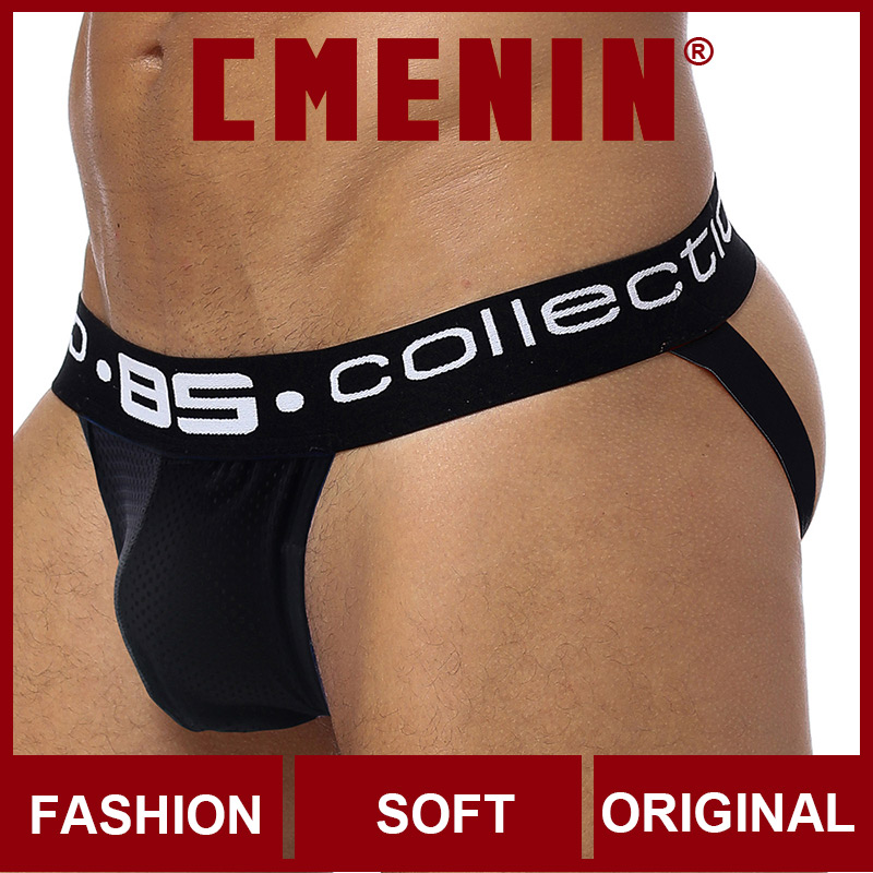 2020 Hot Sale Letter Cotton Quick Dry BS Gay Men Sexy Underwear Thong Men Jockstrap Men's Underwear Mens Thongs And G Strings