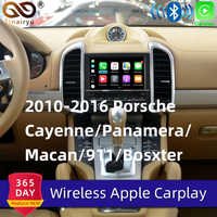 Sinairyu Wifi Wireless Apple CarPlay for Porsche Cayenne Macan 911 PCM3.1 Car play Adapter Android Auto Mirroring For Panamera