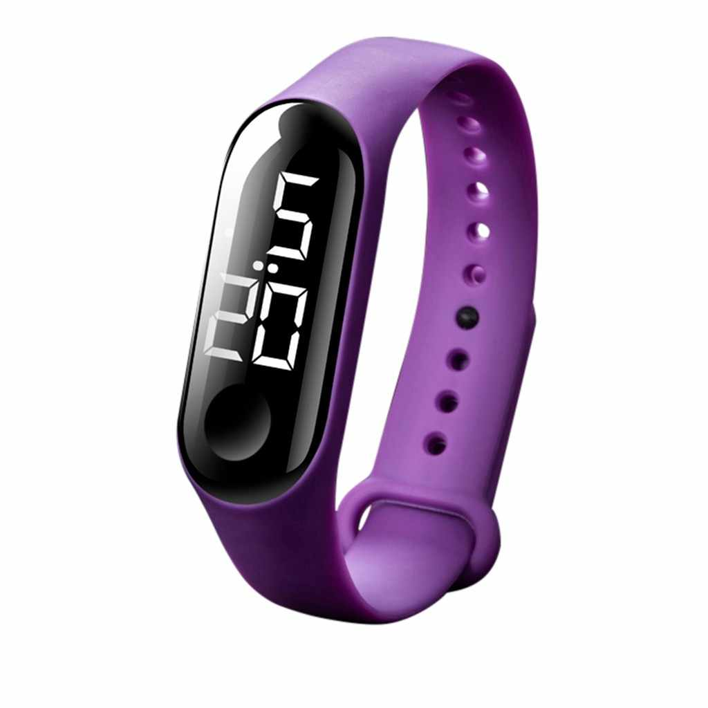smael watch men's watch LED Electronic Sports Luminous Sensor Watches Fashion Men and Women Watches reloj mujer iced out watch