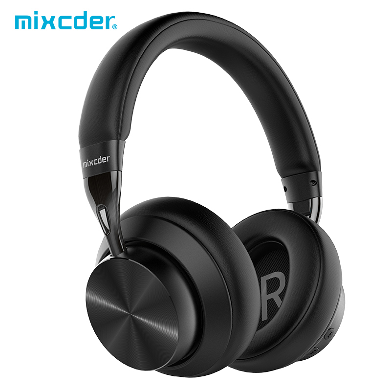 Mixcder E10 aptX casque Bluetooth à faible latence casque sans fil à suppression de bruit actif HD avec micro pour téléphones mobiles PC TV