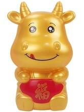 Копилка Милая Детская копилка золотой БЫК мультяшный Ретро бак