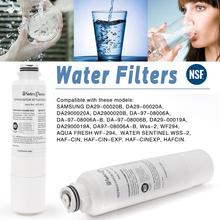 HOT! Refrigerator Water Filter for DA29-00020B Aqua-Pure Plus Activated Carbon Cartridge Replacement Water Filter 1 Pcs greenure gre1004 refrigerator water filter cartridge carbon purifier replacement for maytag ukf8001 whirlpool filter4 3 pcs lot