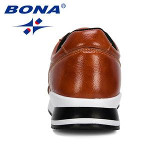 Image 2 - BONA 2020 새로운 디자이너 인기있는 남성 캐주얼 신발 경량 로퍼 신발 남자 야외 레저 신발 Zapatillas Para Hombre