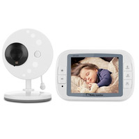 M care 3.5inch LCD Sreen Baby Sleep Monitor Wireless Video Baby Monitor Baby Nanny Security Night Vision Camera Video Monitoring