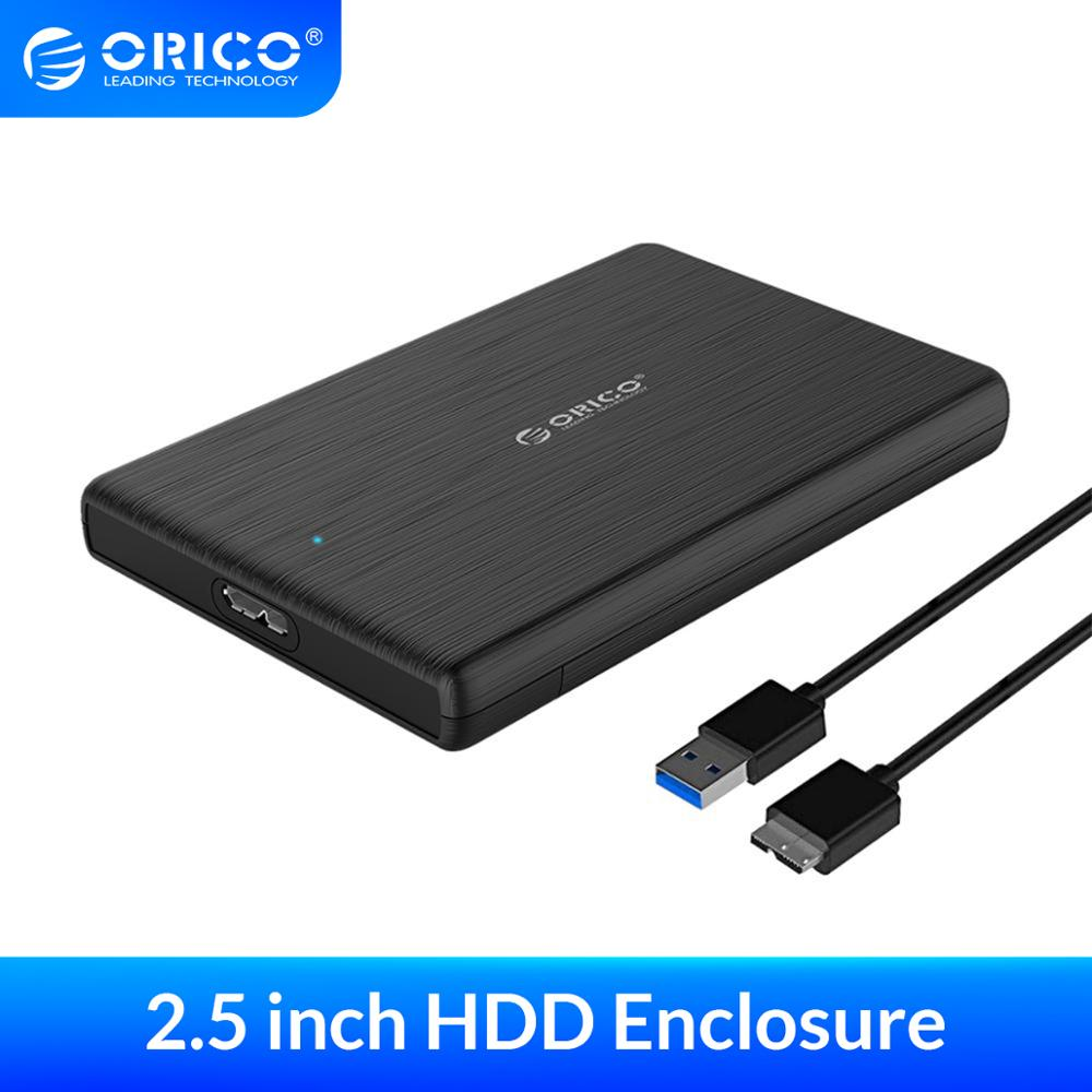ORICO 2.5 Inch SATA to USB 3.0 HDD Case USB3.0 MicroB External Hard Drive Disk Enclosure High-Speed UASP SSD Case for WD Seagate(China)
