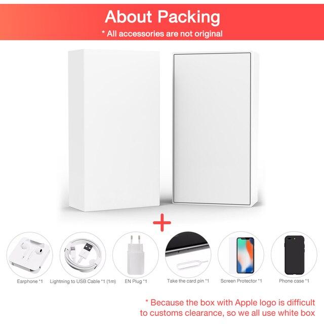 "Original Apple iPhone XS Unlocked Used like New Cellphone 4GB RAM 64GB/256GB ROM 5.8"" Hexa Core iOS A12 Bionic 4G LTE  Smartphon 6"