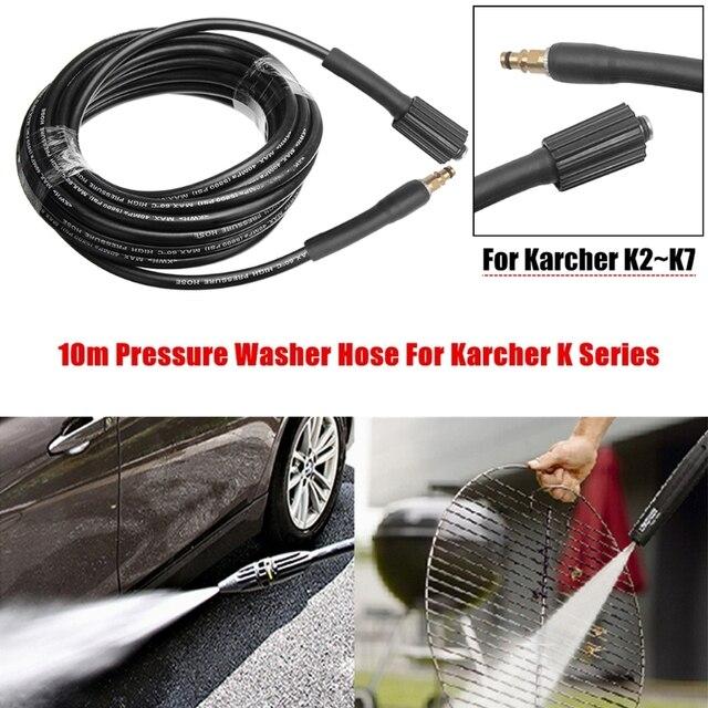 6 ~ Áp 10M Nước Vệ Sinh Vòi Ống Dây Áp Lực Ống Máy Rửa Xe Nước Vòi Cho Karcher K Series