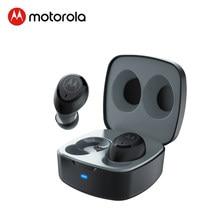 Motorola True bezprzewodowy zestaw słuchawkowy Bluetooth 5.0 redukcja szumów sportowy zestaw słuchawkowy obsługa inteligentnego głosu Alexa, Siri, asystent Google
