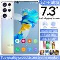 Глобальная версия S21 + Ультра 7,3 дюймовыйж Смартфон Android 10,0 16 Гб Оперативная память 512 ГБ Встроенная память Dual Sim разблокирован мобильный теле...