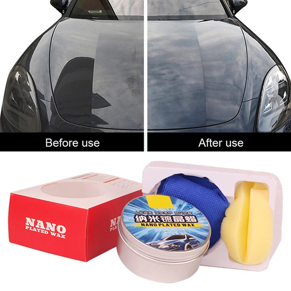 150G Car Wax Polishing Paste Wax Scratch Repair Agent Paint Car Crystal Hard Wax Paint Care Waterpro