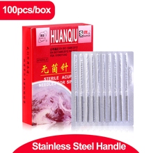 100pcs/box Acupuncture Needle Disposable Needle Acupuncture Beauty Massage Needle health care healthcare muscle massage needle stimulator cmns6 1 electronic acupuncture 6 output channel newest jia jian acupuncture needle stimulator