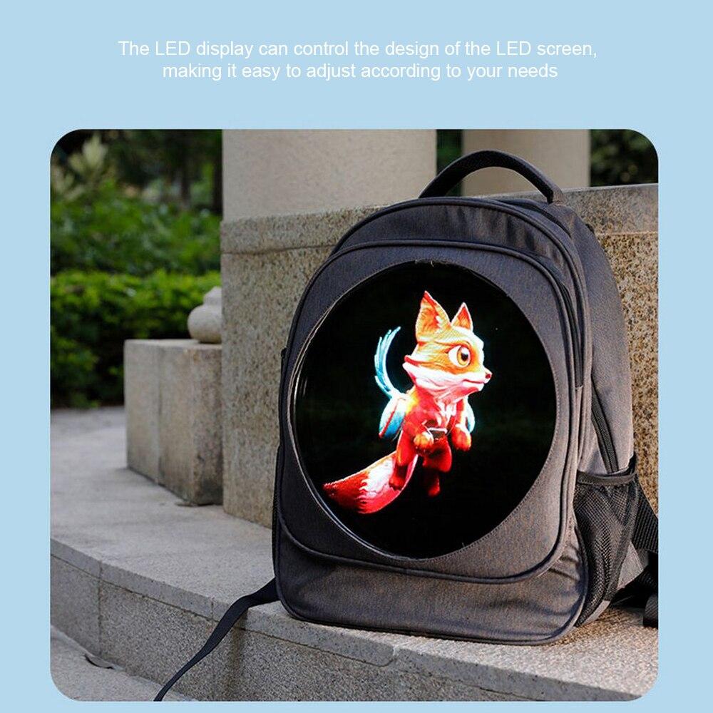 3d display holográfico led fã publicidade luz