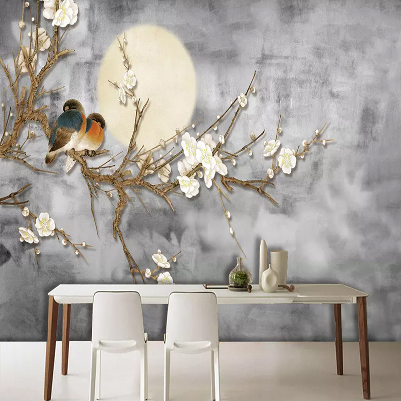 Photo-Wallpaper-3D-Chinese-Style-Flowers-And-Birds-Wall-Painting-Living-Room-TV-Sofa-Bedroom-Background (1)