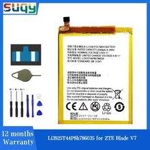 Suqy – Batterie pour téléphone portable ZTE Blade V8, pour modèles V7 Z10 BA910 A910 A512 Xiaoxian 4 BV0701