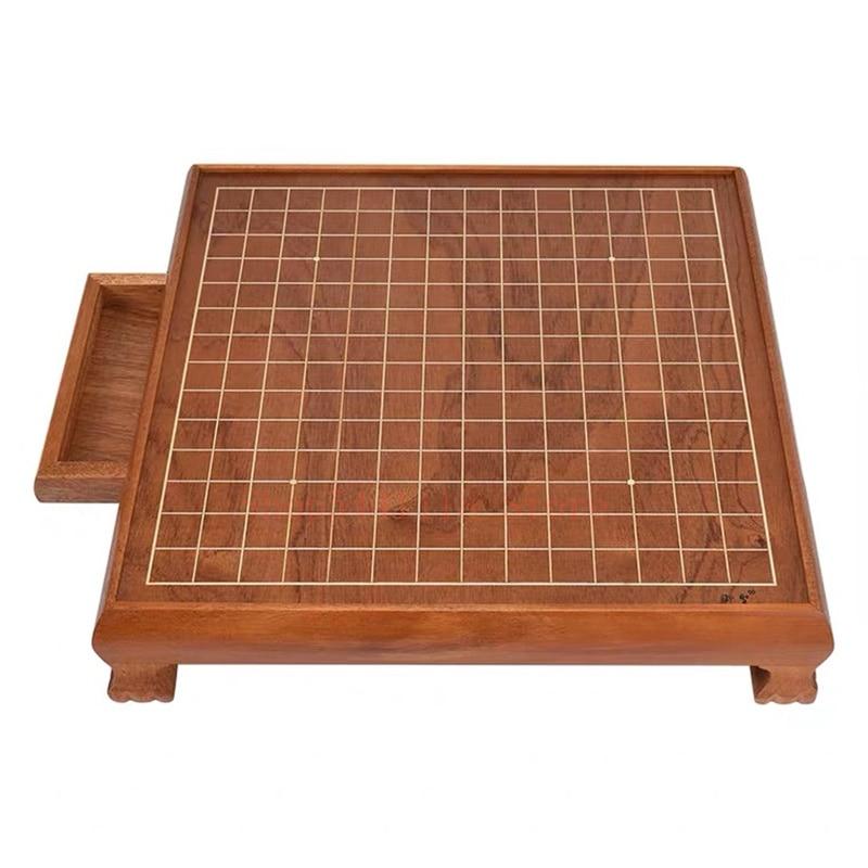 Go game – plateau d'échecs en bois, rétro, antique, pour enfants et adultes, exquis, chinois, plateau nu