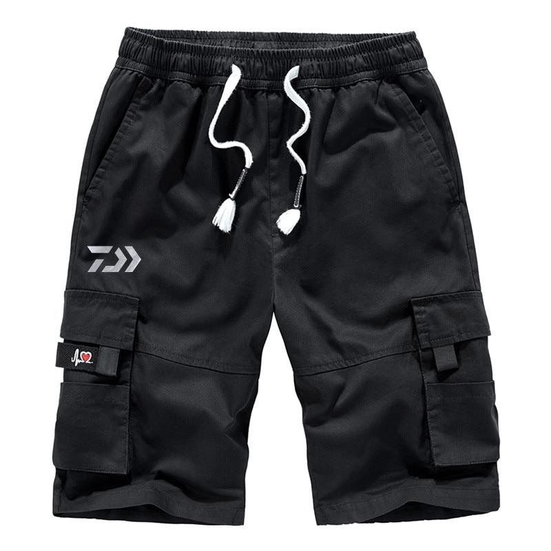 Daiwa Cargo Shorts Summer Camo Short Sport Fishing Sweatpants Camouflage Plus Size 6XL 7XL 8XL Military Pantalon Corto Hombre
