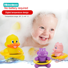 Medoboo Cartoon Baby Infant Water Thermometer Digital Cute Animal Toys Children Bath Tub Temperature Tester BPA Free
