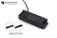 Barrowch FBM2TZ-01, M.2 Solid State Drive Digital Display Kühlung Kit, Für 2280/22110 Spezifikation M2 Typ SSD