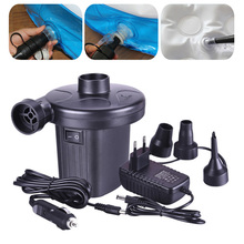 2021 Hot sale Electric Air Pump Inflator Potable Inflatable Compressor For Mattress  Swimming Pool Fast Air Filling Inflator