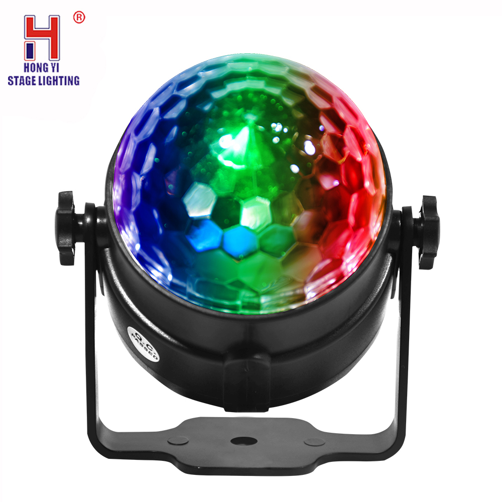 Disco Ball Strobe Light,Car Interior Atmosphere DJ Light Sound Active Function Remote Control For Camping Party