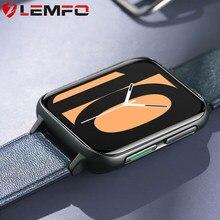 LEMFO – montre connectée DT93 pour hommes, écran HD, résolution 2020x420, fonction MP3, appels Bluetooth, ECG, appel personnalisé, PK DTX, 485