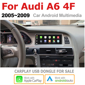 Image 4 - TBBCTEE Car Android For Audi A6 4F 2005 2006 2007 2008 2009 MMI 2G 3G GPS Navigation Radio Android Auto Hi Fi Multimedia player