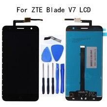 100% test arbeit 5,2 zoll Für ZTE V7 LCD Display + touch screen digitizer komponente ersatz für ZTE V7 zubehör Reparatur kit