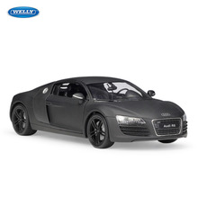 WELLY 1:24 Audi R8 sports carsimulation alloy car model crafts decoration collection toy tools gift цена в Москве и Питере