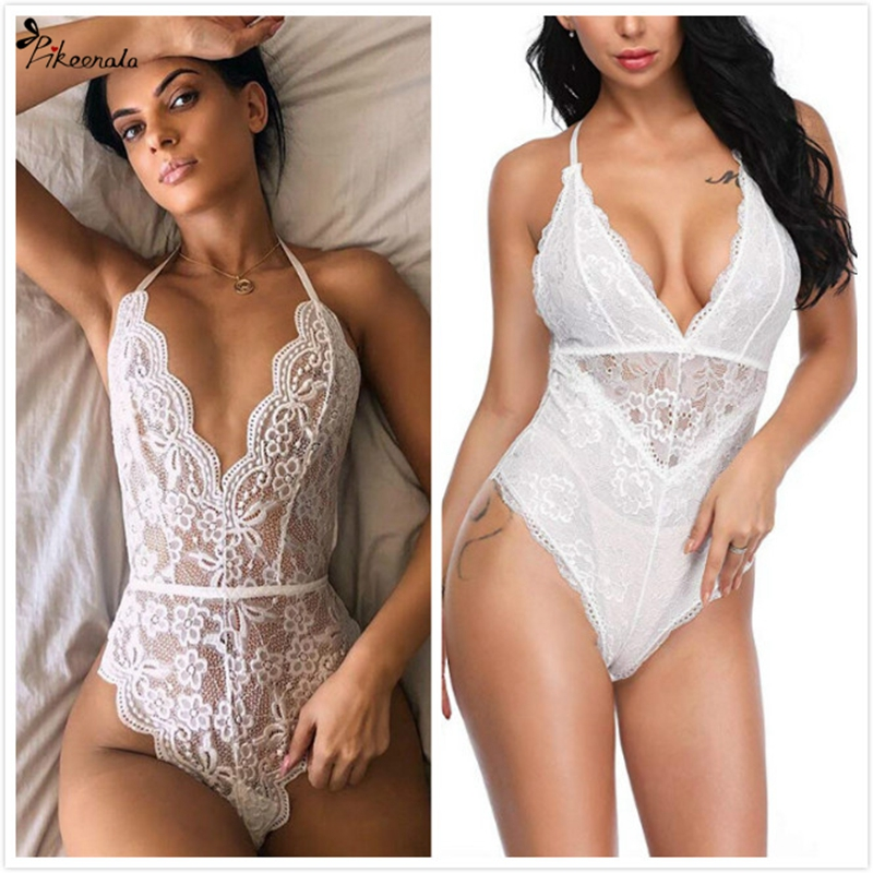 Plus Size Women Sexy Lingerie Erotic Baby Dolls Dress Sex Underwear Lenceria Mujer Babydoll Lace Porno Babydoll Costumes