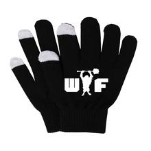 Anime DOTA2 rękawiczki kobieta mężczyzna palec rękawiczki bawełniane ciepłe rękawiczki antypoślizgowe rękawiczki do ekranu dotykowego męskie rękawiczki biznesowe tanie tanio Unisex COTTON Dla dorosłych Cartoon Nadgarstek Moda SHOUTAO