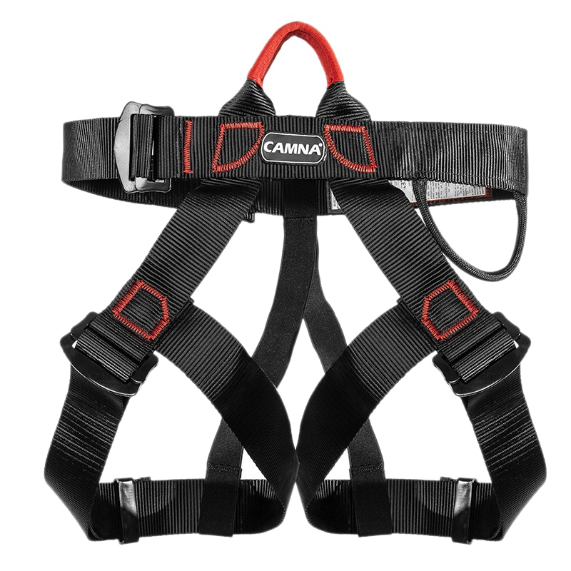 Camna Climbing Half-Length Belt, Chest Strap, Seat Belt Outdoor Climbing Mountaineering Belt