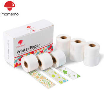 9 Rolls Phomemo Thermal Sticker Paper 15mm x 3.5m 3 Colors Label Paper for Phomemo M02S Photo Printer Printable Adhesive Paper - DISCOUNT ITEM  52 OFF Education & Office Supplies