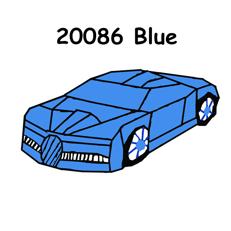 In Stock 20086 20001B 20087 <font><b>23002</b></font> Building Blocks Race Car Compatible 42056 42083 Self-locking Bricks Toys for Children Gift image
